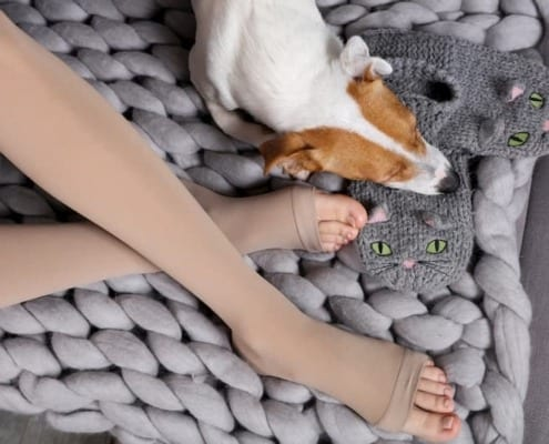compression socks for leg circulation